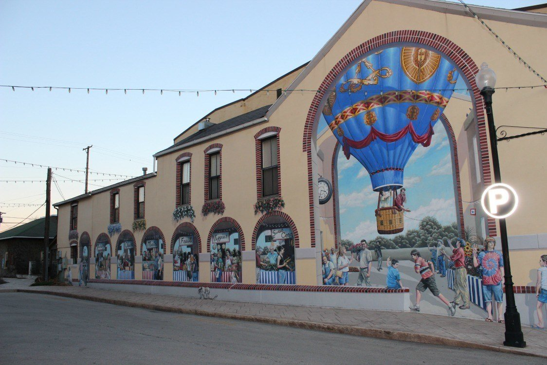 mural in clinton county
