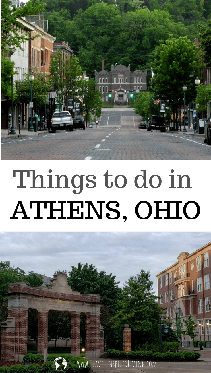 A list of the best things to do in Athens Ohio if you are limited on time.