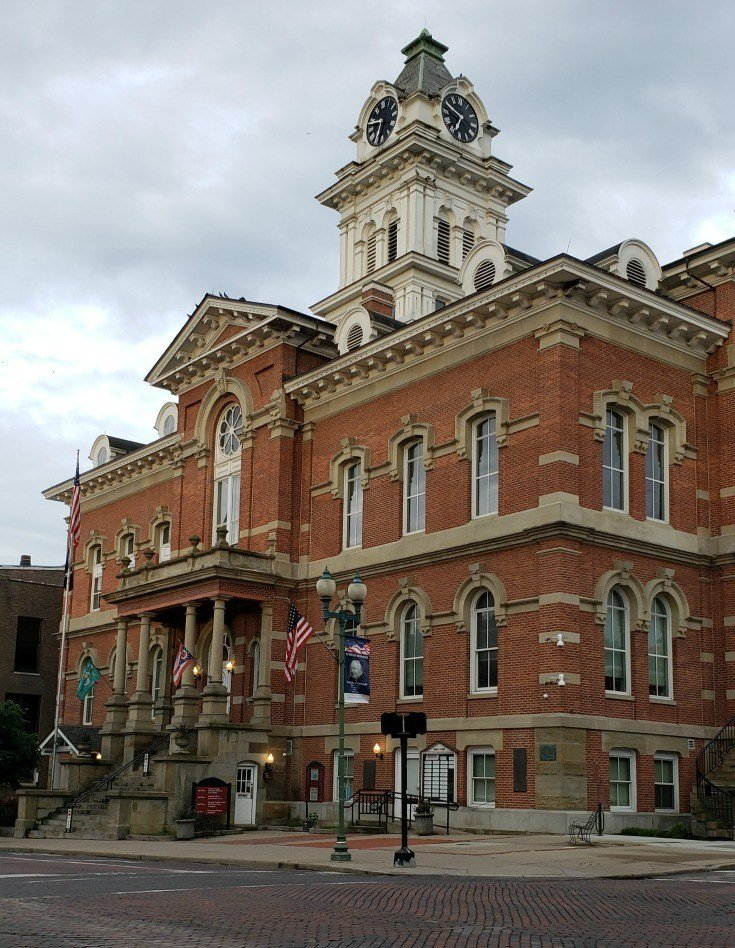 Courthouse in Athens Ohio