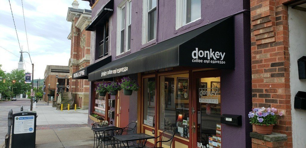 Donkey Coffee and Espresso in Athens OHio