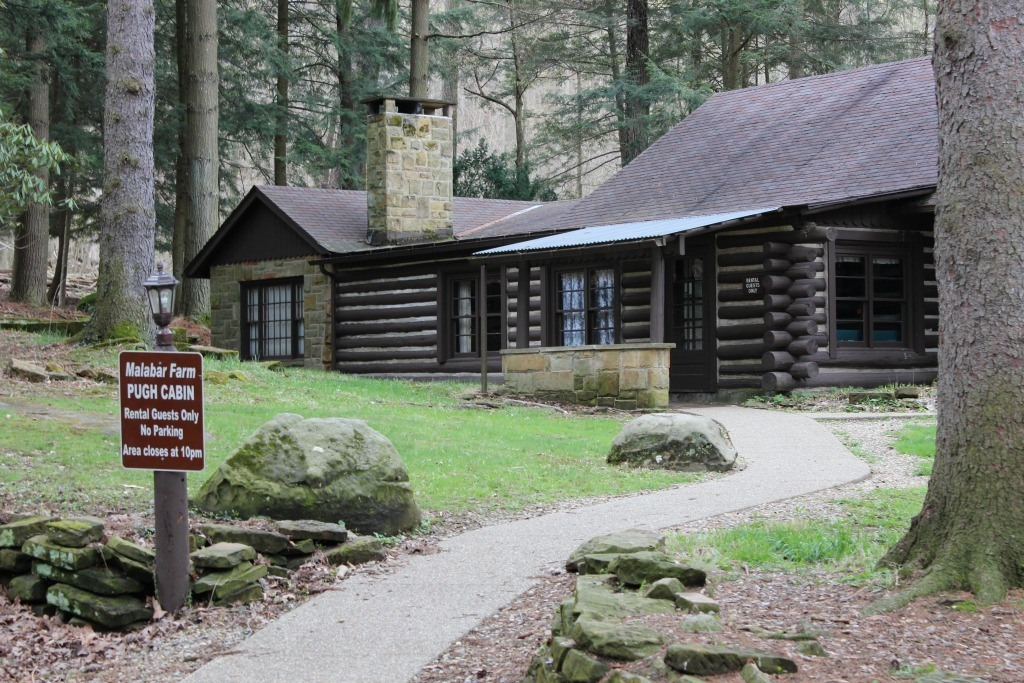 The opening scene of the Shawshank Redemption was filmed at the Pugh Cabin at Malabar Farm State Park.