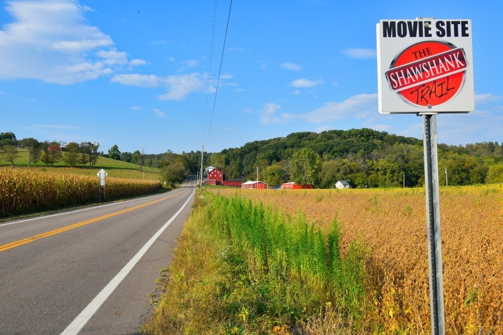 Another stop along the Shawshank Trail, this one offers a great view of Ohio's countryside.