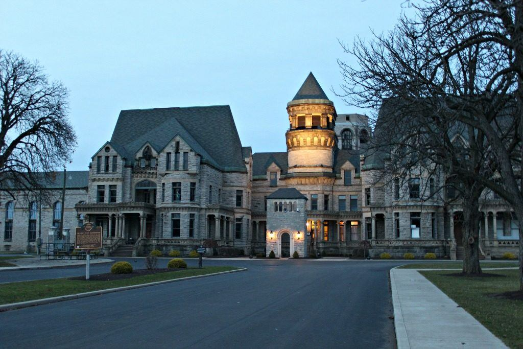 The Ohio State Reformatory is more widely recognized as the Shawshank Prison, made popular by the Shawshank Redemption movie.