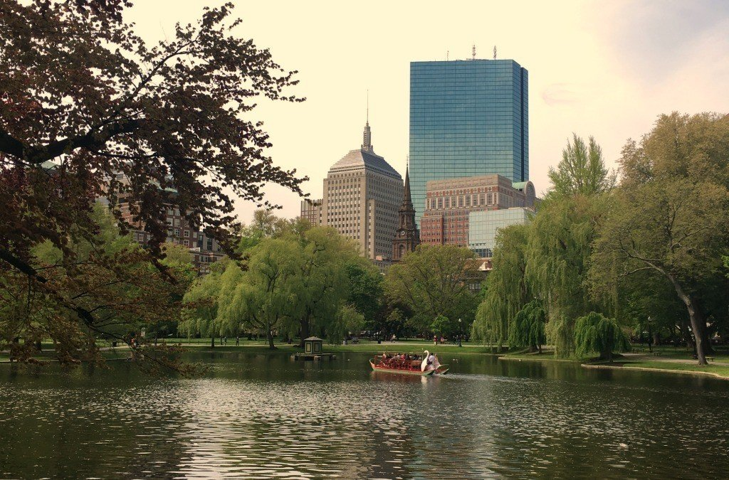 The Swan Boats are a fun sight to see in Boston and a unique experience.