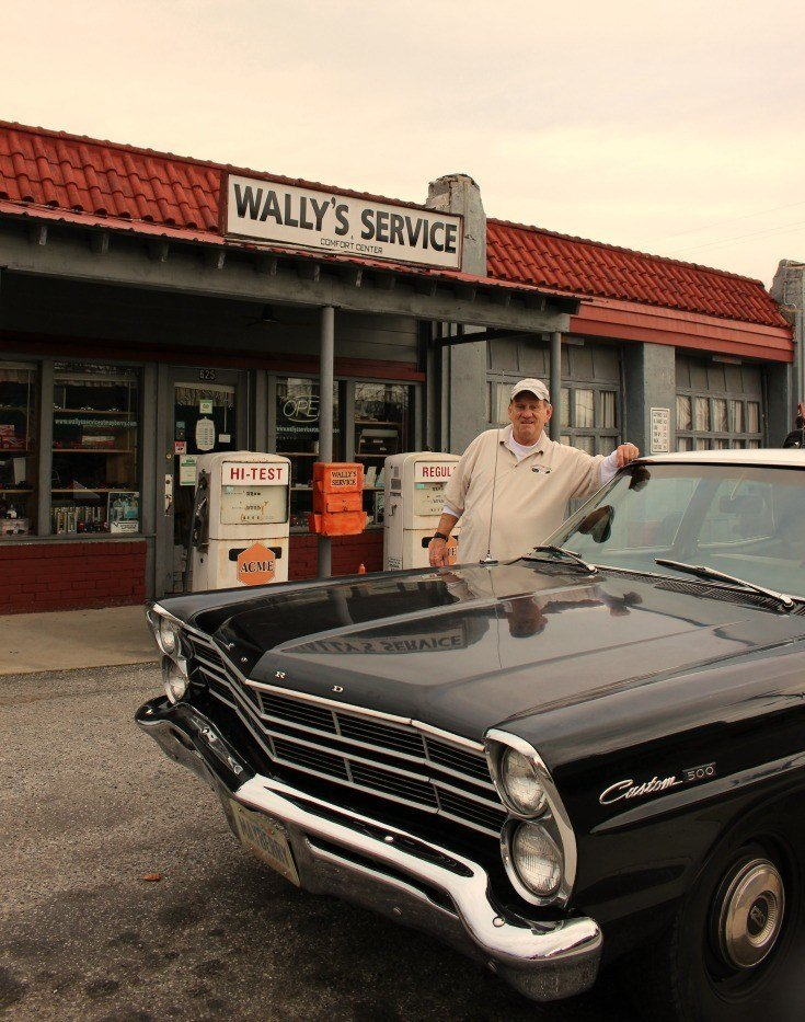 Allen at Wally's Service Center