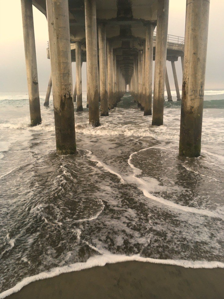 Huntington Beach Pier in Orange County California