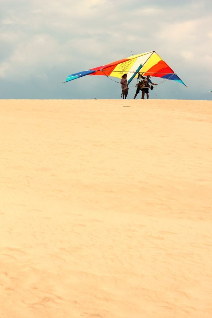 Learn to hang glide in the Outer Banks at the world's largest hang gliding school.