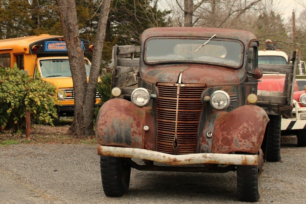 old cars in mount airy