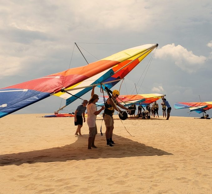 Learn to Hang Glide in the Outer Banks at the World's Largest Hang Gliding School
