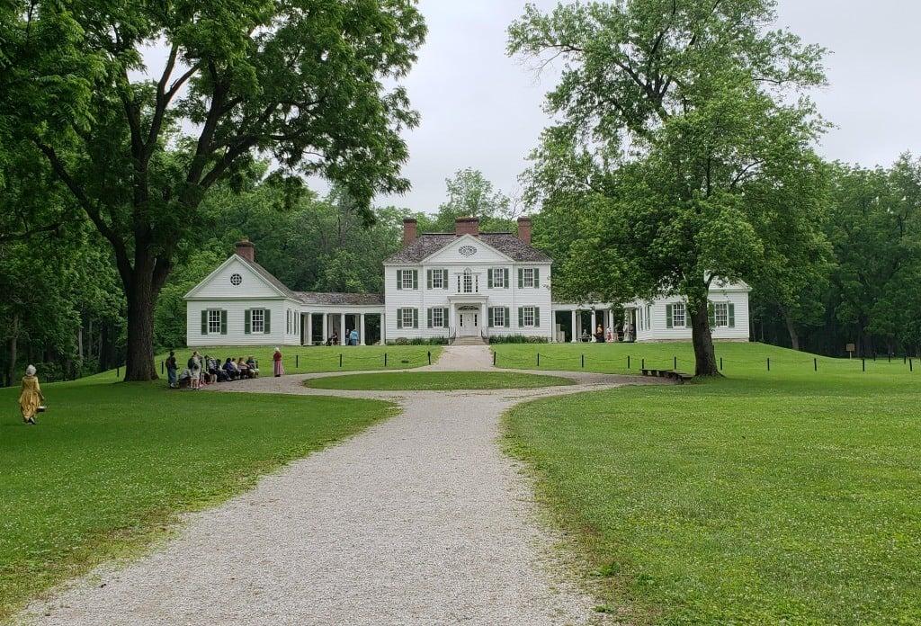 The Blennerhassett Mansion