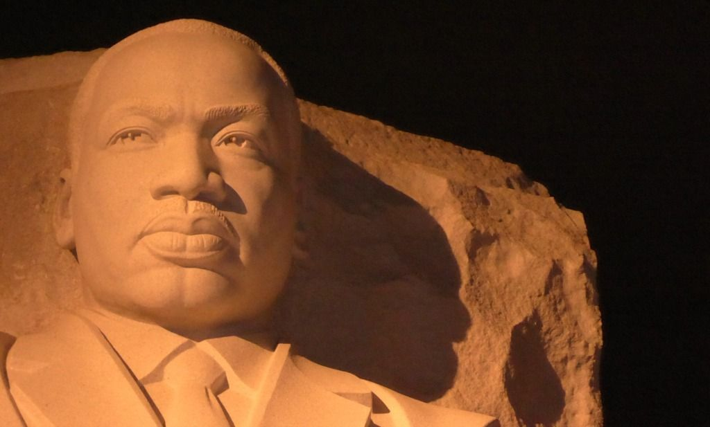 MLK Jr monument in DC