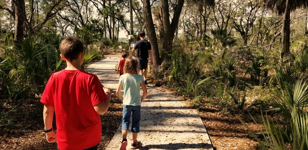 Get lost with the kids at Pinckney National Wildlife Refuge