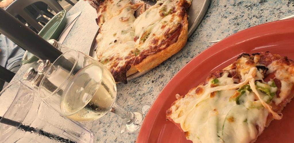 Pizza at Tiffany's