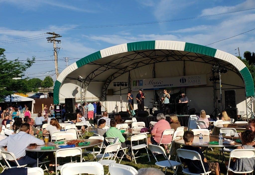 Taste of Parkersburg Event