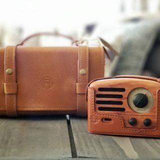 Muzen Rosewood Duffle OTR speaker and portable carry case