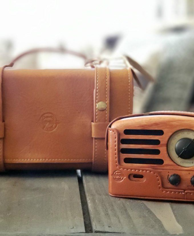 The Retro Wooden Speaker that's Perfect for Adventure