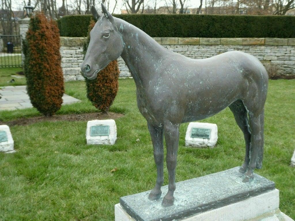 Sculpture of Nancy Hanks