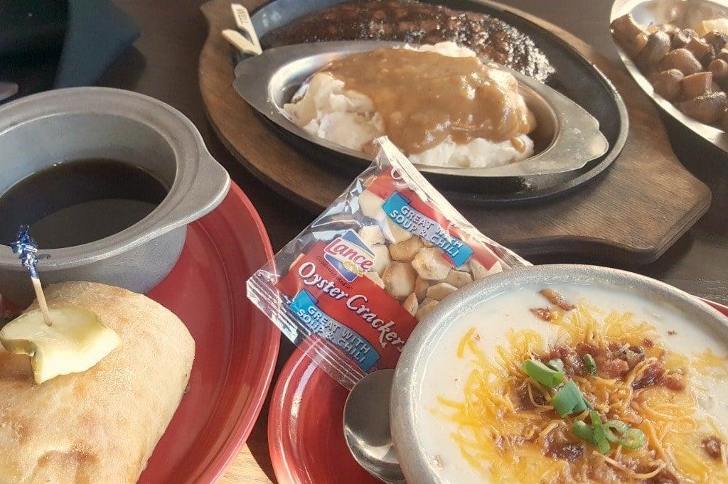 Dinner at the Alamo in Gatlinburg