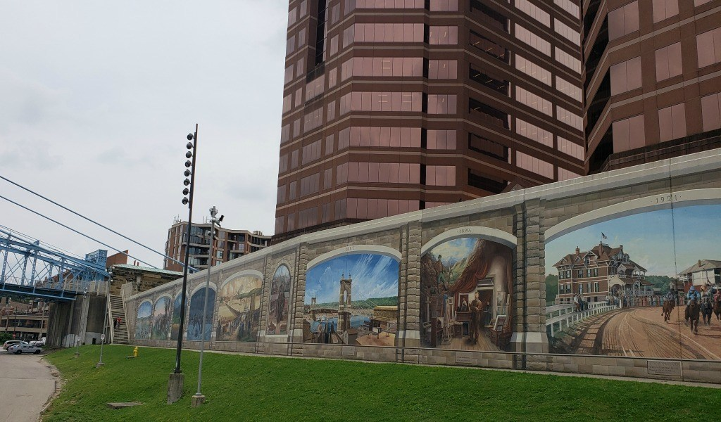A look at the murals in Covington, KY.
