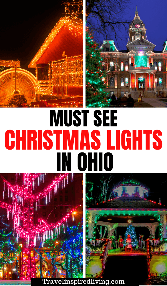 the best christmas lights in Ohio in 2020