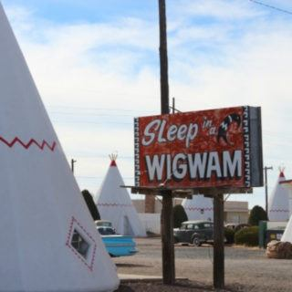 The Wigwam Motel in Holbrook, Arizona is the epitome of a Route 66 road trip.