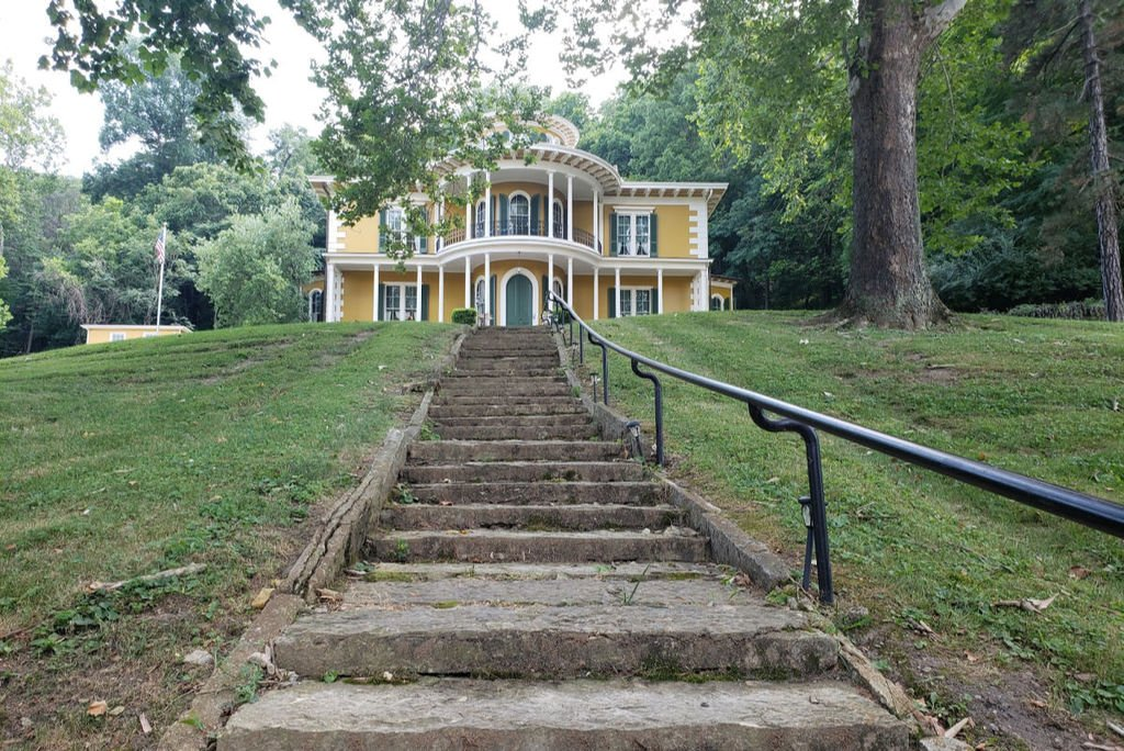 Hillforest Mansion is located in southeastern Indiana