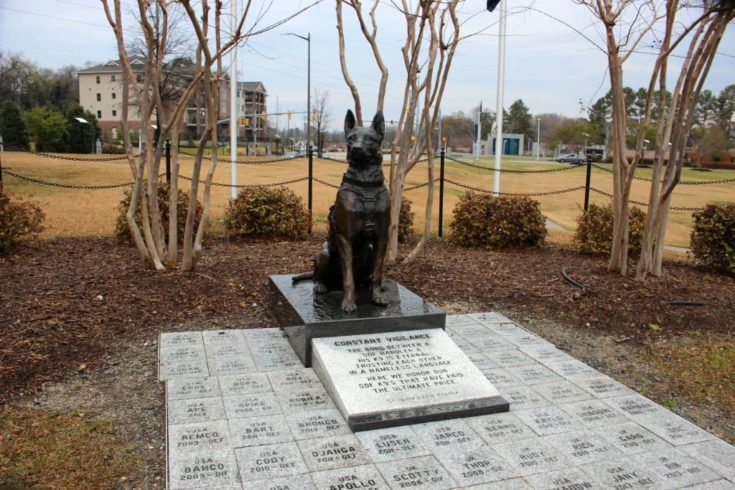 Constant Vigilance: The First Memorial to Honor K9's Killed in the Line of Duty