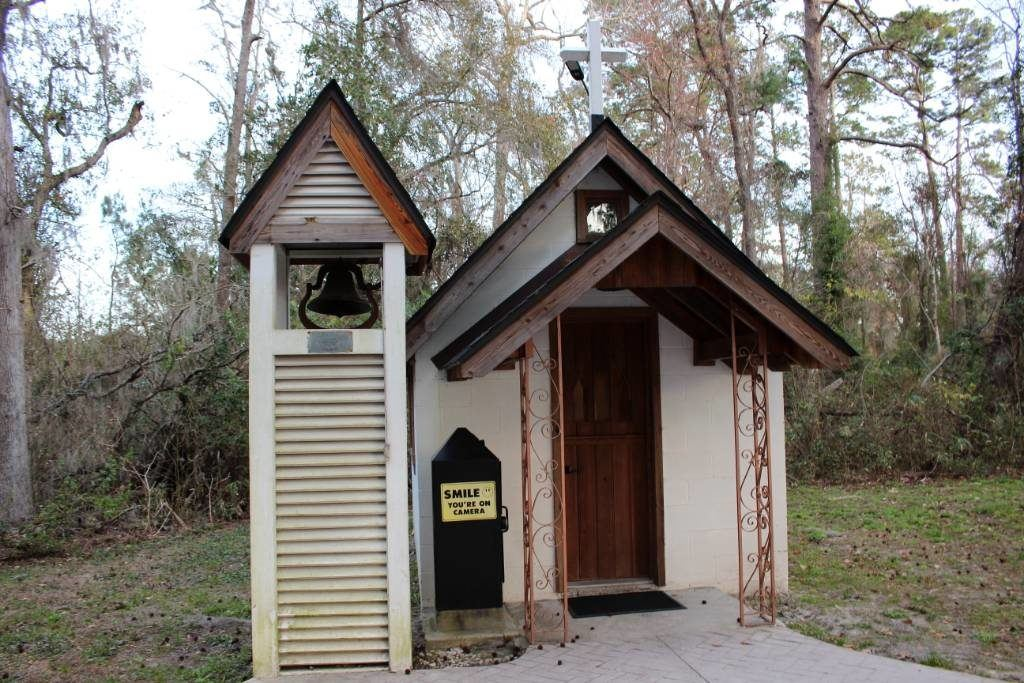 Outside of America's Smallest Church