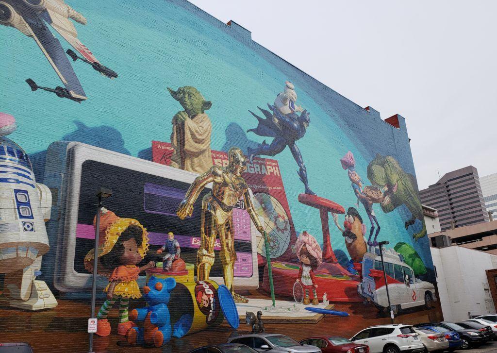 Mural in Cincinnati