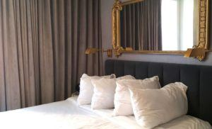 Inside a room at Hotel LeVeque