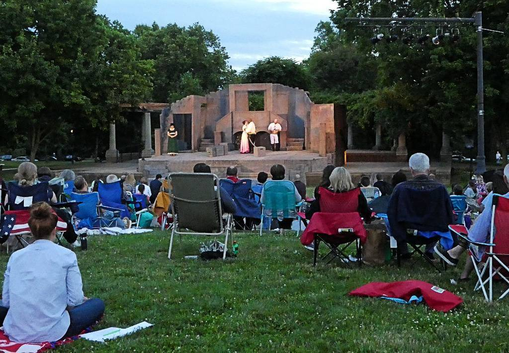 Shakespeare in the Park in the German Village