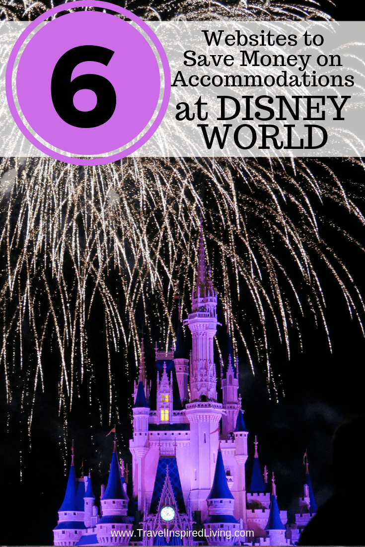 6 websites to help you save money on accommodations at Disney World.