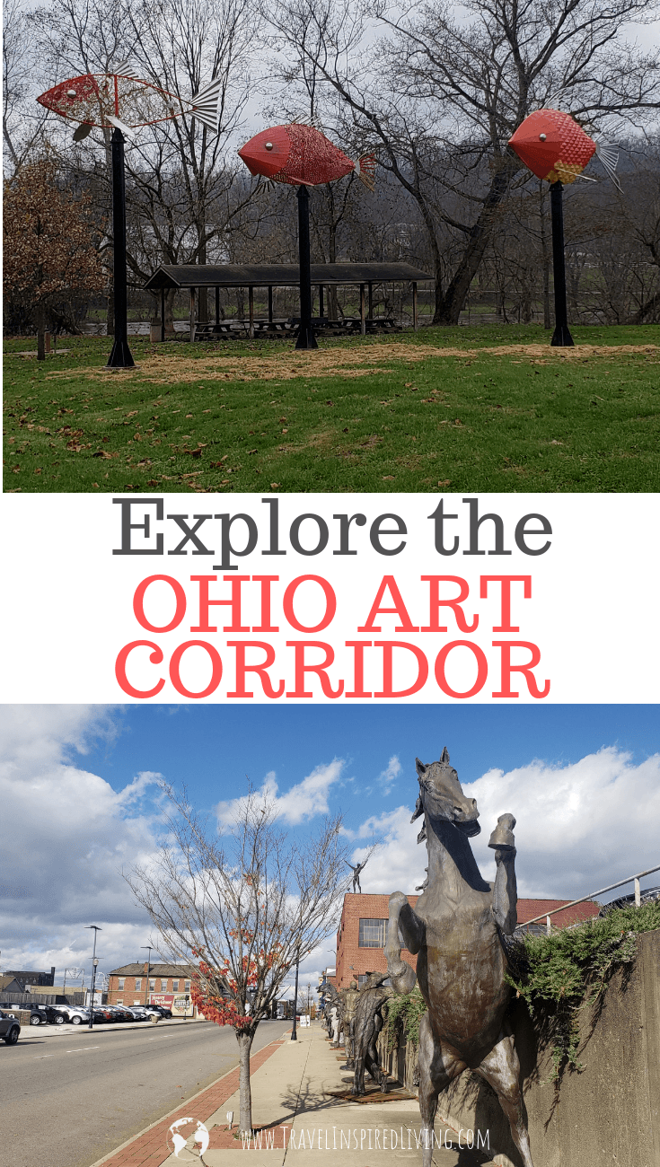 Explore the Ohio Art Corridor through Ohio's Appalachia.
