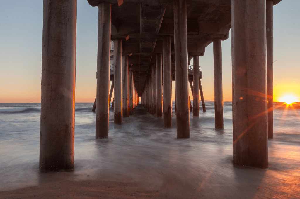 The pier at Huntington Beach California