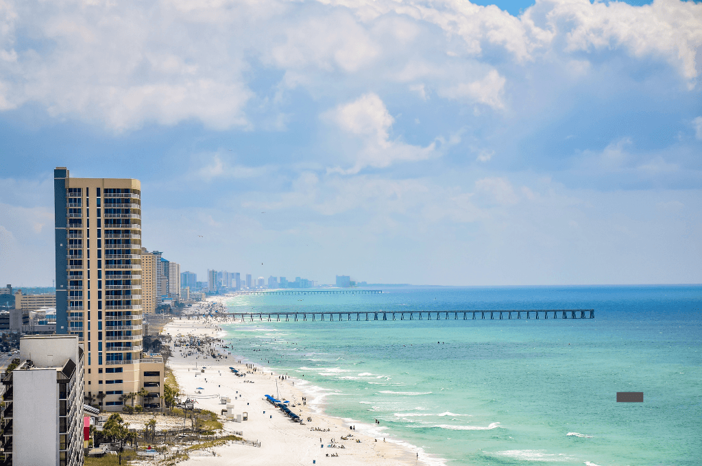 Panama City Beach in Florida