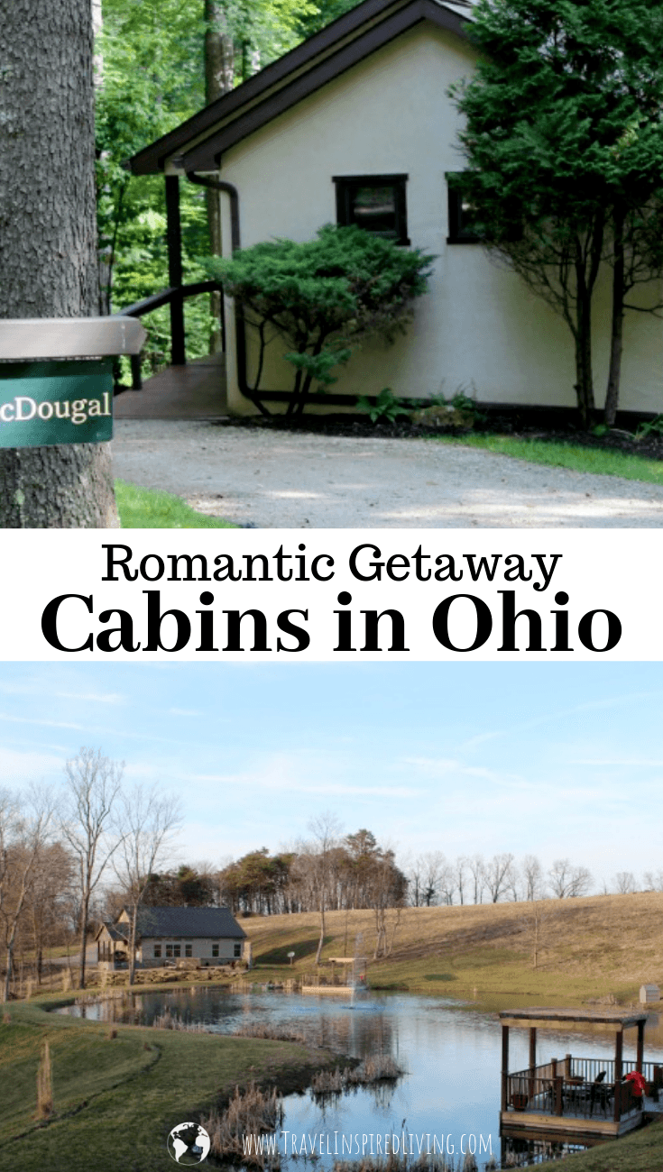 Planning a romantic midwest getaway? Here are our picks for Romantic Getaway Cabins in Ohio.