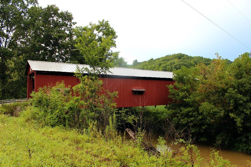 A photo of one of the Covered Bridges in Marietta
