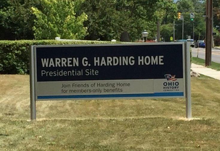 President Warren G. Harding's Home
