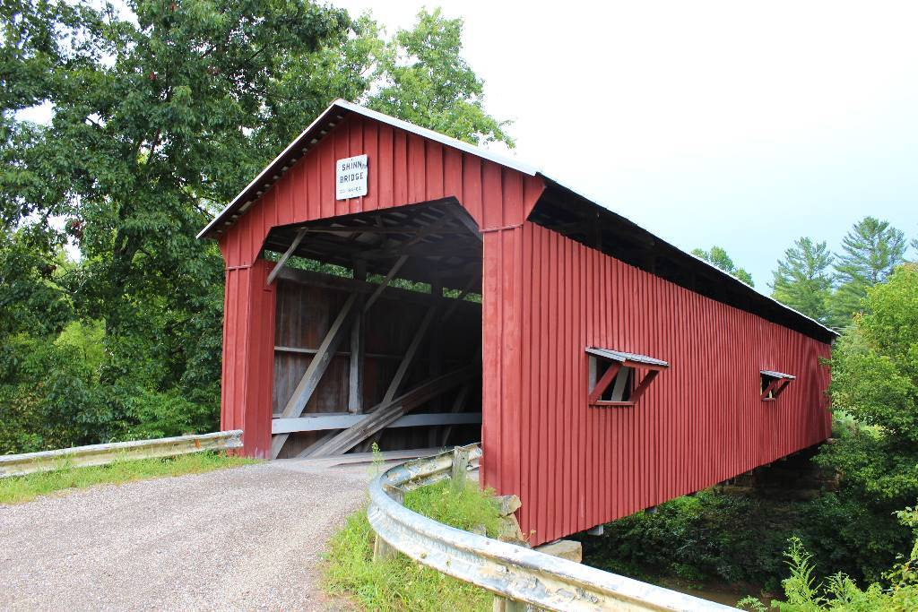 The Shinn Covered Bridge in Marietta is an historic bridge.