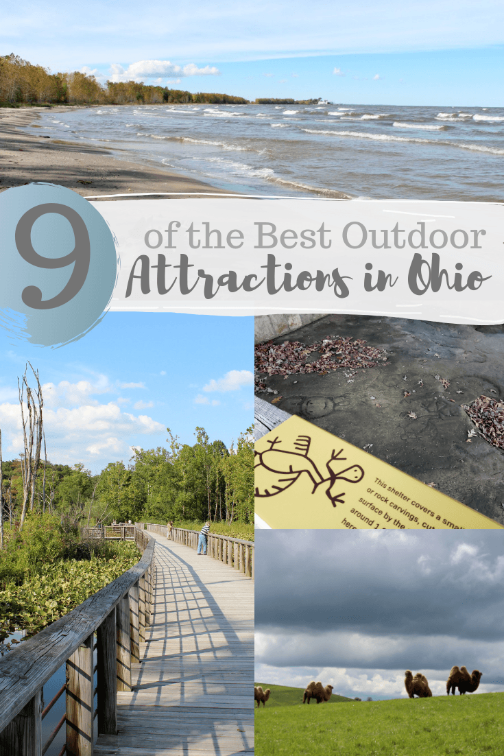Outdoor attractions in Ohio