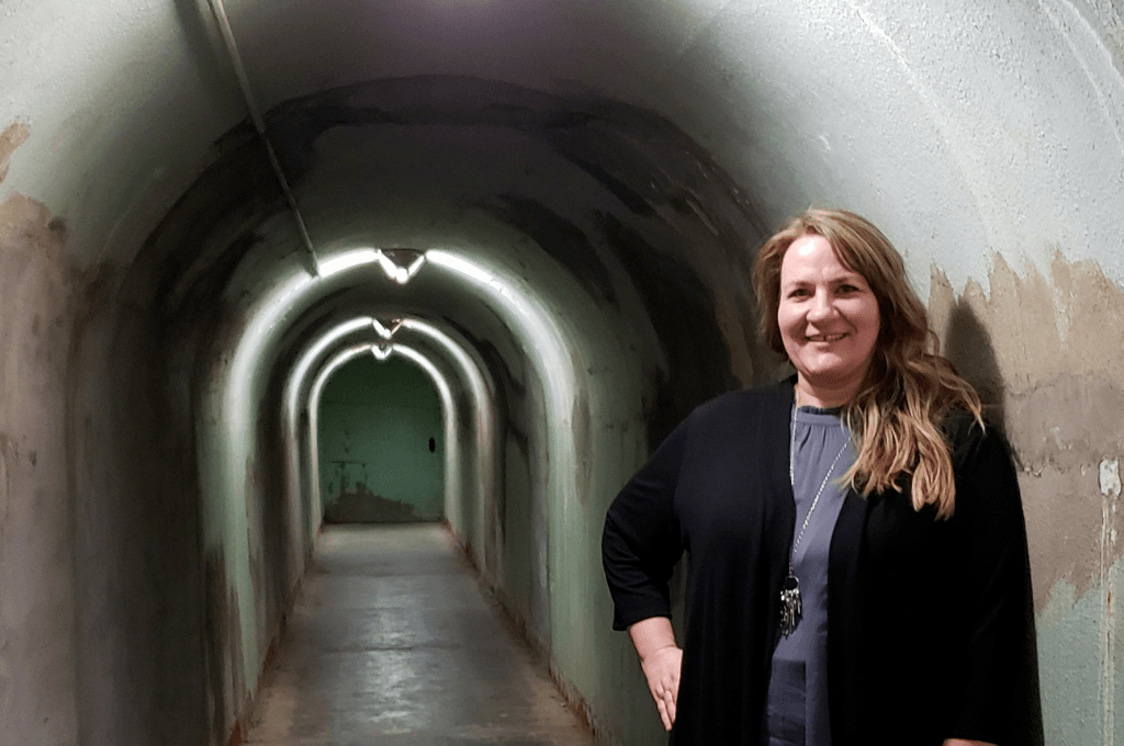 Exploring the tunnels in Tulsa