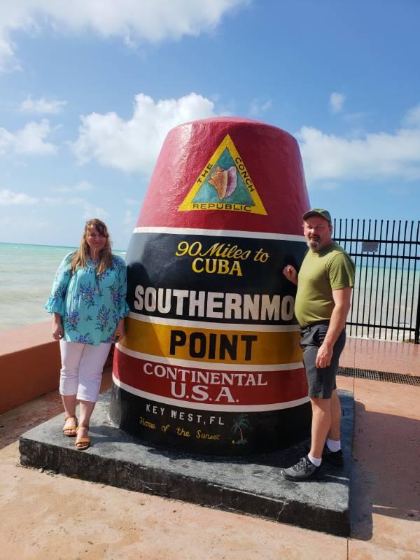 At the Southernmost Point in the Continental USA