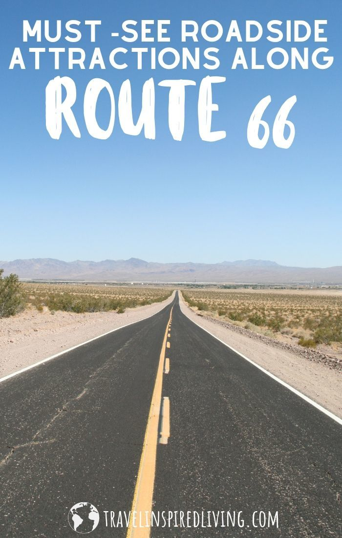 Traveling along Route 66