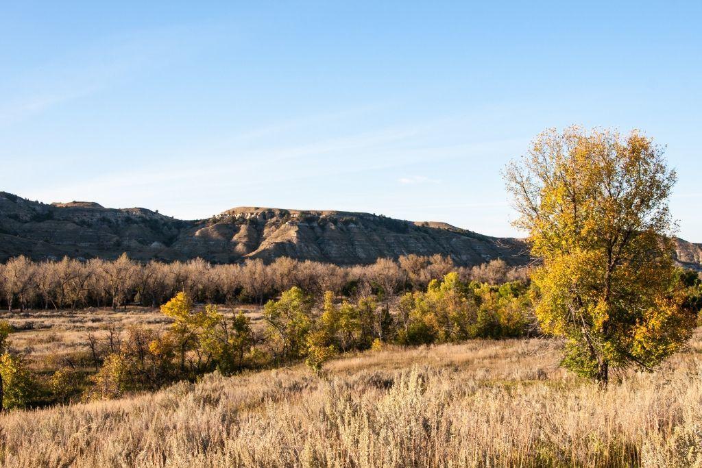 Views along the North Dakota Scenic Byway