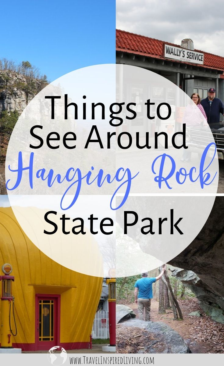 Things to See Around Hanging Rock State Park