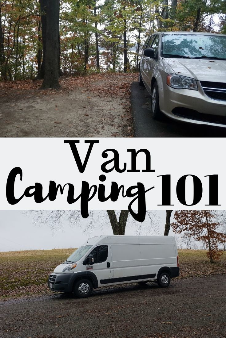 van camping vehicles