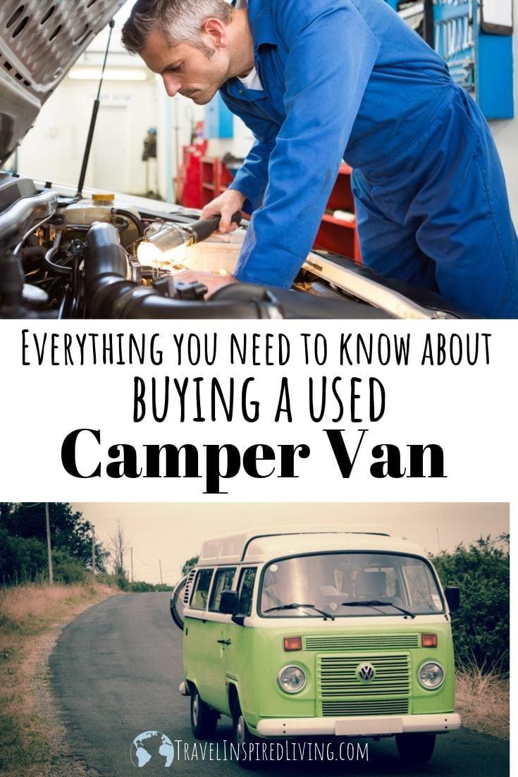 Shopping for used camper vans.