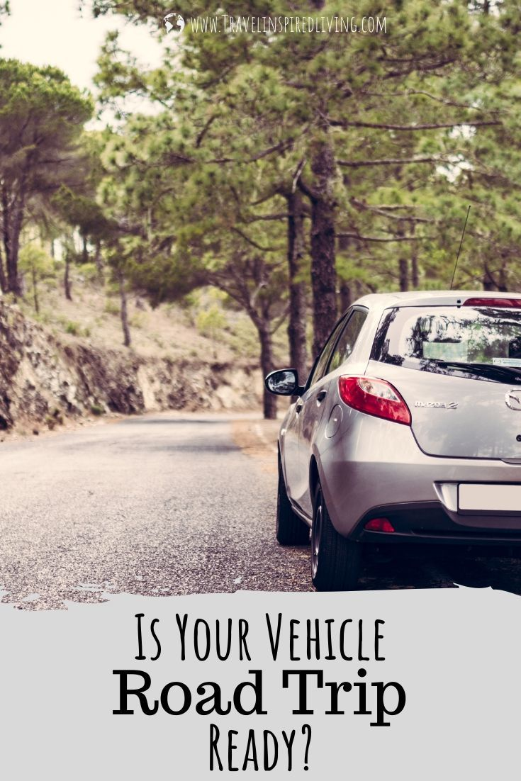 Things to check on your car before you leave home on a road trip.
