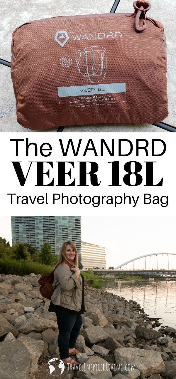 The WANDRD VEER 18L Camera Bag