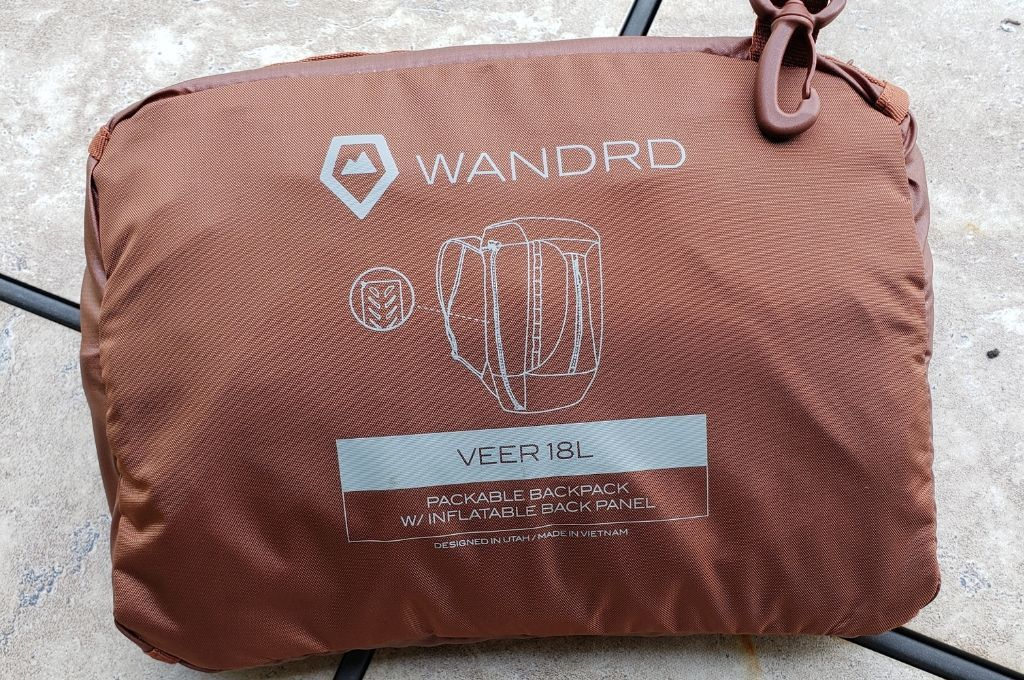 WANDRED VEER 18L bag